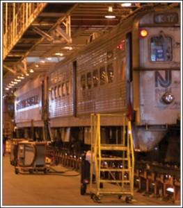 New Jersey Transit Train Image